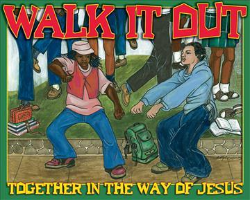 Vacation Bible School 2008 Walk It Out Iron on (Package of 10) Vbs
