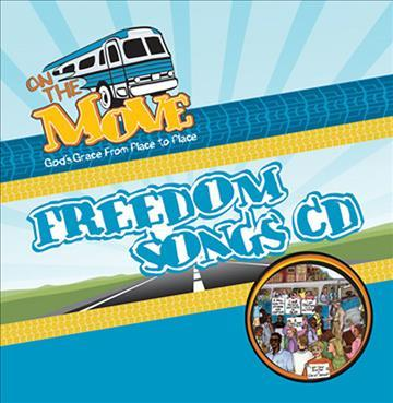 Vacation Bible School on the Move Freedom Songs CD Vbs09