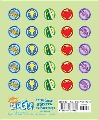 Vacation Bible School 2009 Camp E.D.G.E. Attendance Stickers for Nametags (Package of 20) Vbs