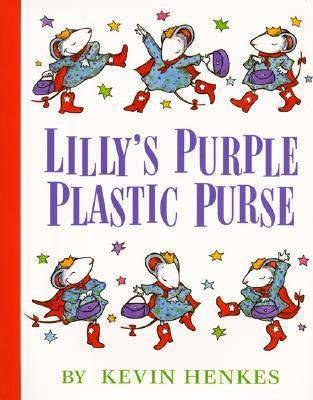 Lillys Purple Plastic Purse