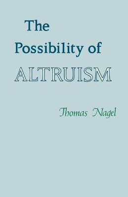 The Possibility of Altruism