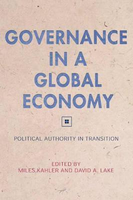 Governance in a Global Economy  Political Authority in Transition