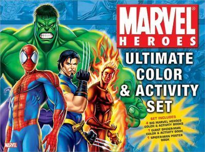 Marvel Heroes Ultimate Color & Activity Set
