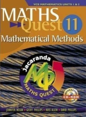 Maths Quest - Maths Methods 1 & 2