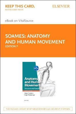 Anatomy and Human Movement - Elsevier eBook on Vitalsource (Retail Access Card)