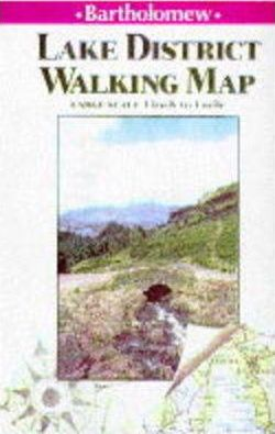 Lake District Walking Map