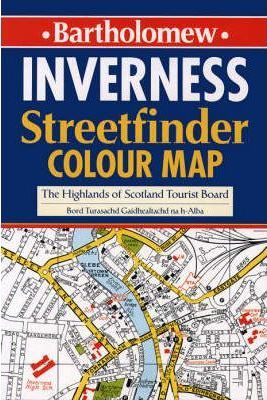 Inverness Streetfinder Colour Map