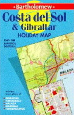 Costa del Sol and Gibraltar Holiday Map