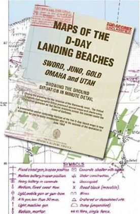 Maps of the D-Day Landing Beaches