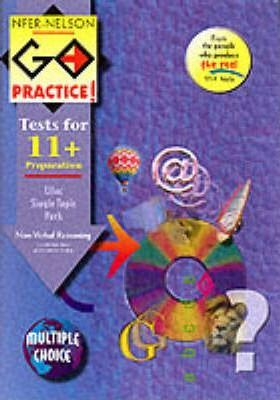 NFER-Nelson Go Practice!: Non-verbal Reasoning Topic Pack: Includes 4 Alternative Tests (Multiple Choice Version)