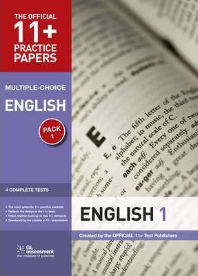 11+ Practice Papers, English Pack 1, Multiple Choice