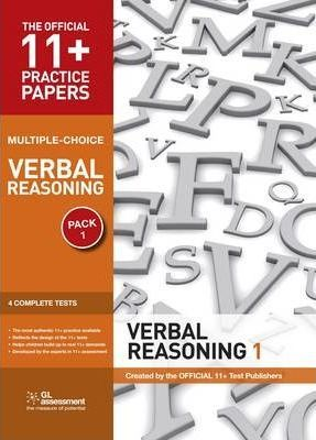 11+ Practice Papers, Verbal Reasoning Pack 1, Multiple Choice
