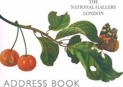 The National Gallery London Address Book: Fruits and Flowers