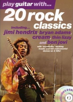 Play Guitar with 20 Rock Classics