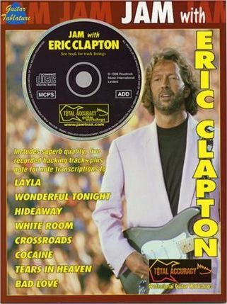 Jam with Eric Clapton Tab Book