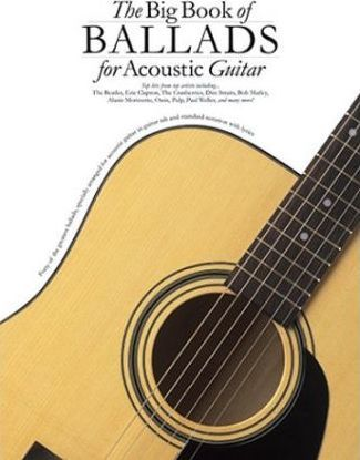 The Big Book of Ballads for Acoustic Guitar Tab