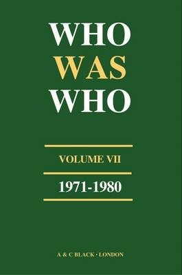 Who Was Who (1971-1980): v. 7