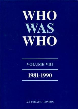Who Was Who (1981-1990): v. 8