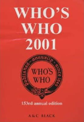 Who's Who 2001