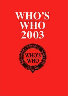 Who's Who 2003