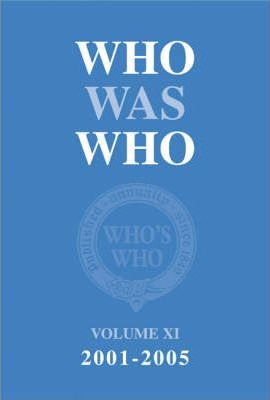 Who Was Who: v. XI