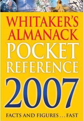 Whitakers Pocket Reference 2007