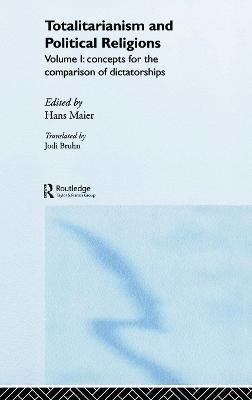 Totalitarianism and Political Religions, Volume 1