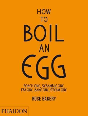 How to Boil an Egg; Poach one, Scramble one, Fry one, Bake one, Steam one, make them into Omelettes, French Toast, Pancakes, Puddings, Crepes, Tarts, Quiches, Custard, Soups, Scones, Muffins, Flans, Frittatas, Gratins, Cakes, Gnocchi, Salads, Sandwiches, Mousse, Chawanamushi and Meatballs