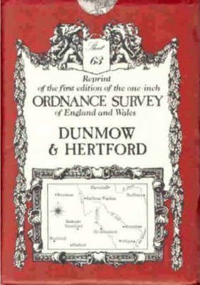 Ordnance Survey Maps: Dunmow No. 63