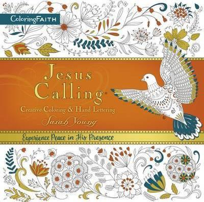 Jesus Calling Adult Coloring Book: Creative Coloring and Hand Lettering