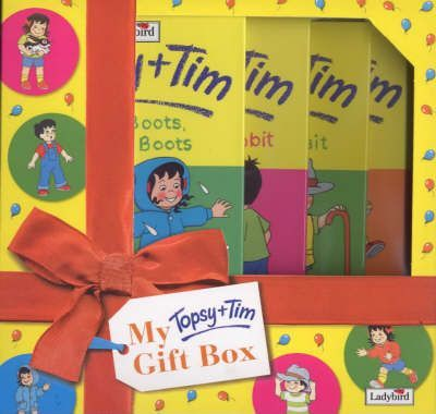 "Topsy and Tim Gift Box 2000: ""Red and Yellow Boots"", ""Special Visit"", ""Little Lost Rabbit"", ""Little Shoppers"""