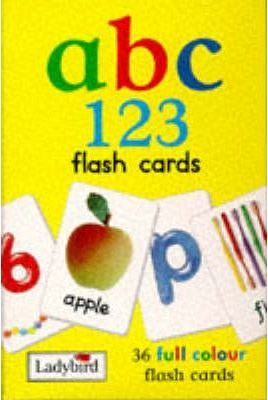 First Steps Flashcards: ABC - 123