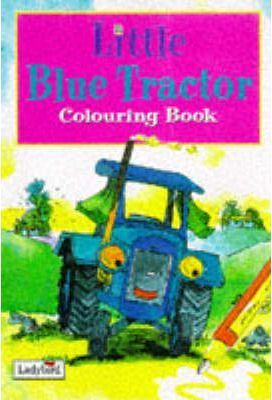 Little Blue Tractor: Colouring Book