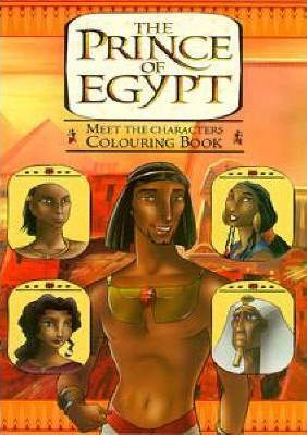 Prince of Egypt: Colouring Book