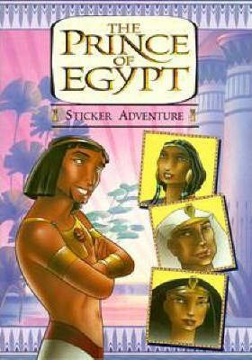 The Prince of Egypt: Sticker Book