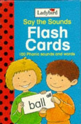 Say the Sounds Flash Cards