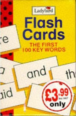 First 100 Words Flash Cards