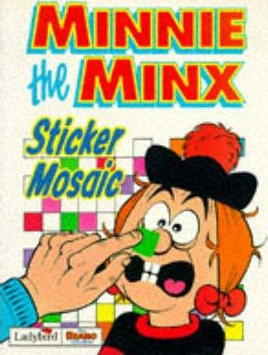 Minnie the Minx Sticker Mosaic