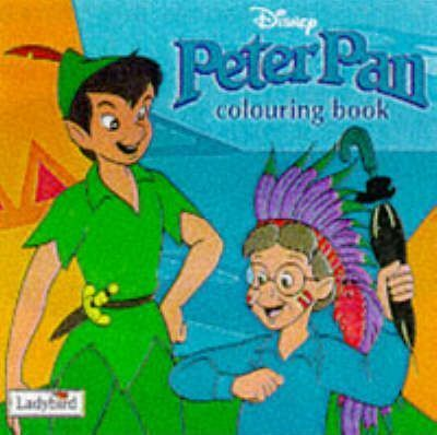Peter Pan Colouring Book