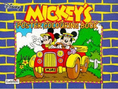 Mickey's Colouring Poster Book