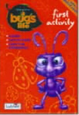 """""""A Bug's Life: First Activity Book"""