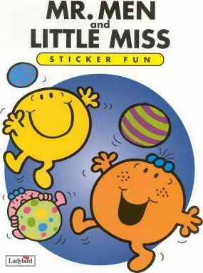 Mr Men & Little Miss: Sticker