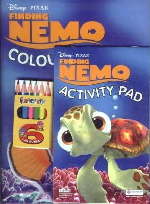 Finding Nemo: Activity Pack