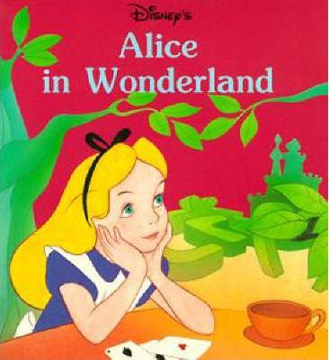 Alice in Wonderland: Mini Book