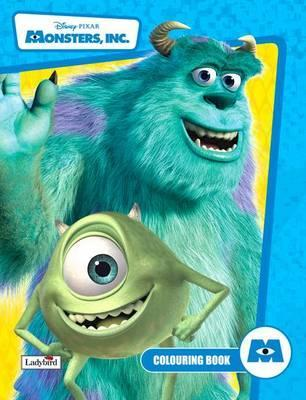 Monsters Inc: Colouring Book