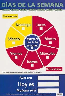 Dias De La Semana (Days of the Week)