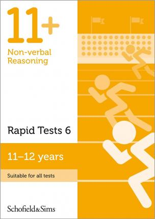 11+ Non-verbal Reasoning Rapid Tests Book 6 Year 6-7, Ages 11-12