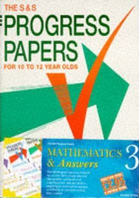 Progress Papers: Maths 3 with Answers