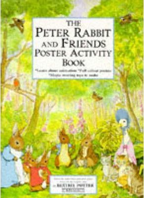 The Peter Rabbit And Friends Poster Activity Book