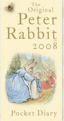 Peter Rabbit Pocket Diary 2008